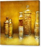 Doctor - Oil Essences Canvas Print