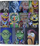 Doctor Who Muppet Mash-up Canvas Print