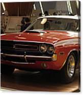 Dodge 1971 Challenger R/t Canvas Print