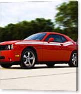 Dodge Challenger Canvas Print