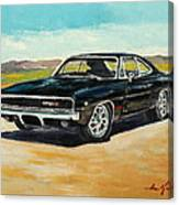 Dodge Charger Rt 1970 Canvas Print