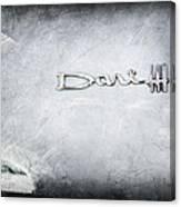 Dodge Dart 440 Emblem Canvas Print