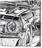 Dodge Dart Canvas Print