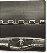 Dodge Emblem Canvas Print
