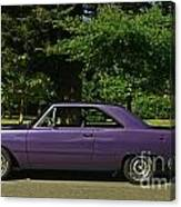 Dodge Gts- Side Canvas Print