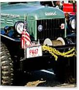 Dodge Power Wagon Front End Canvas Print