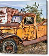 Dodge Power Wagon Wrecker Canvas Print