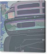 Dodge Ram With Decreased Color Value Canvas Print