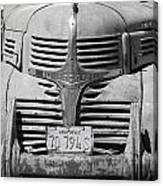 Dodge Truck Canvas Print