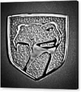 Dodge Viper Emblem -217bw Canvas Print