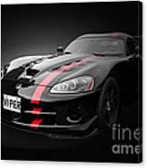 Dodge Viper Srt Canvas Print