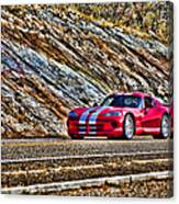 Dodge Viper  V1 Canvas Print