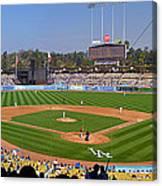 Dodger Stadium Panorama Canvas Print
