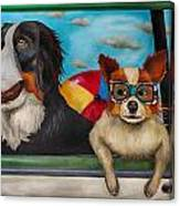 Dog Days Of Summer Edit 3 Canvas Print