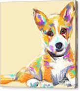 Dog Jerry Canvas Print