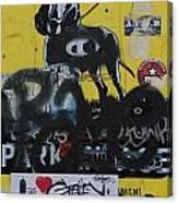 Dog Sign Canvas Print