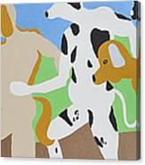 Dogged Canvas Print
