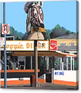 Doggie Diner 1986 Canvas Print