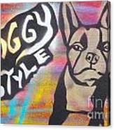 Doggy Style 1 Canvas Print