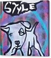 Doggy Style 2 Canvas Print