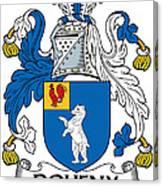 Doheny Coat Of Arms Irish Canvas Print
