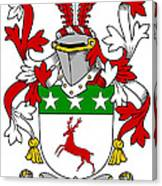 Doherty Coat Of Arms Irish Canvas Print