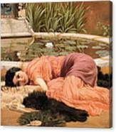 Dolce Far Niente Or Sweet Nothings 1904 Canvas Print