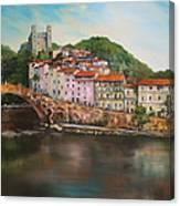 Dolceacqua Italy Canvas Print