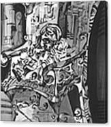 Doll Chair Canvas Print