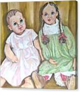 Dollbabies Canvas Print