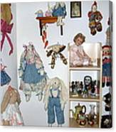 Dolls And Such Canvas Print