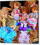 Dolls For Sale 1 Canvas Print
