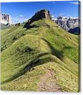 Dolomites - Crepa Neigra Canvas Print