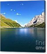 Dolomites - Fedaia Lake  Canvas Print