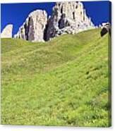 Dolomites - Grohmann Peak Canvas Print