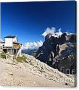 Dolomites -pale San Martino Group Canvas Print