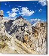 Dolomiti - Costabella Mount Canvas Print