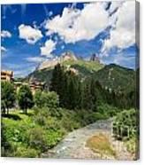 Dolomiti - Fassa Valley Canvas Print