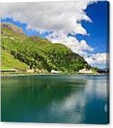 Dolomiti - Fedaia Lake Canvas Print