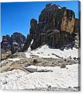 Dolomiti - Pisciadu Peak Canvas Print