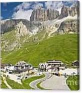 Dolomiti - Pordoi Pass Canvas Print
