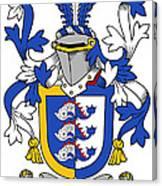 Dolphyn Coat Of Arms Irish Canvas Print