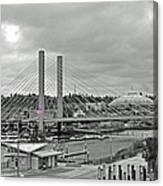 Dome And Bridge Canvas Print