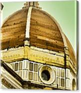 Dome Of Florence Canvas Print