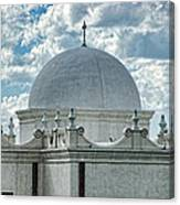 Dome Of San Xavier - Tucson Az Canvas Print