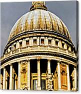 Dome Of St. Paul's Cathedral Canvas Print