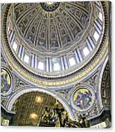 Dome Of St. Peter's Basilica Canvas Print