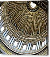 Dome Of St. Peter's Rome Canvas Print