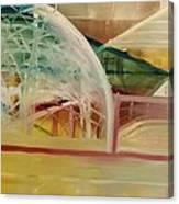 Dome Under Construction Canvas Print