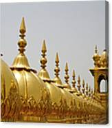 Domes At Golden Temple Canvas Print